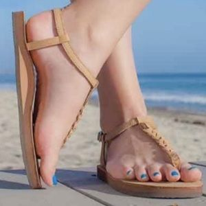 Rainbow 🌈  T Street Heel Strap Sandals